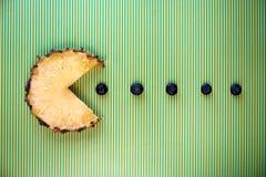 Fetta dell'ananas Immagini Stock Libere da Diritti