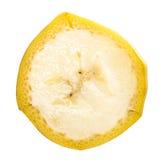Fetta della frutta della banana Fotografia Stock Libera da Diritti