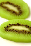 Fetta della frutta di Kiwi immagine stock