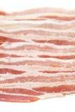 Fetta della pancetta affumicata Fotografia Stock Libera da Diritti