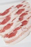 Fetta della pancetta affumicata Immagini Stock Libere da Diritti