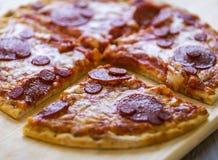 Fetta della pizza immagine stock libera da diritti