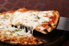 Fetta della pizza Fotografie Stock