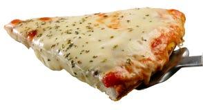 Fetta della pizza Immagine Stock