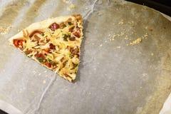 Fetta della pizza Fotografia Stock Libera da Diritti