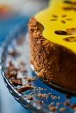 Fetta della torta della ciliegia Fotografie Stock Libere da Diritti