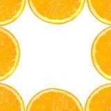 Fetta di arancio. fotografia stock