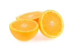 Fetta di arancio fresco Fotografia Stock