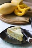 Fetta di grafico a torta del mango Immagine Stock