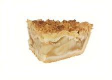 Fetta di grafico a torta della briciola del Apple Immagini Stock