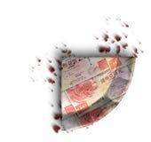 Fetta di Hong Kong Dollar Money Pie Immagine Stock