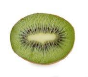 Fetta di kiwi su un bianco Immagini Stock
