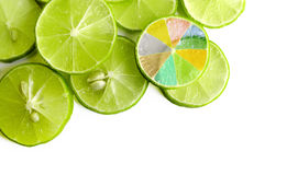 Fetta di limone Immagine Stock Libera da Diritti