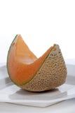 Fetta di melone fresco del cantalupo Fotografie Stock Libere da Diritti