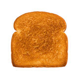 Fetta di pane bianco tostata Fotografie Stock