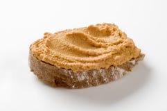 Fetta di pane e di diffusione fotografie stock libere da diritti