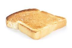 Fetta di pane tostato bianco immagine stock libera da diritti