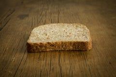Fetta di pane tostato del pane Immagine Stock