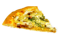 Fetta di pizza Fotografie Stock Libere da Diritti