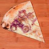 Fetta di pizza Immagini Stock