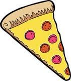 Fetta di pizza Fotografia Stock