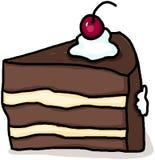 Fetta di torta Immagini Stock
