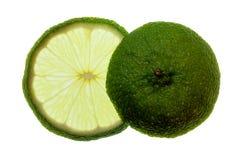 Fetta ed estremità di limone Immagine Stock Libera da Diritti