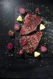 Fetta fresca del tonno Immagine Stock Libera da Diritti