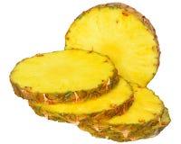 Fetta matura dell'ananas fotografia stock