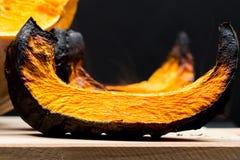 Fette al forno della zucca e zucca Fotografie Stock