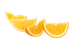 Fette arancio Immagine Stock