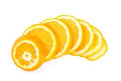 Fette arancio Fotografia Stock