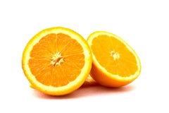 Fette arancio Fotografie Stock Libere da Diritti