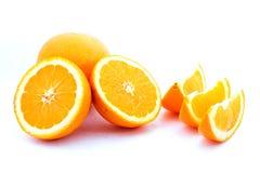 Fette arancio Fotografia Stock Libera da Diritti