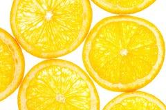Fette arancio come fondo Fotografia Stock