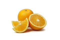 Fette arancio della frutta Fotografia Stock Libera da Diritti