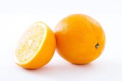 Fette arancio di frutti delle arance della frutta Fotografia Stock Libera da Diritti