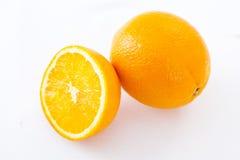 Fette arancio di frutti delle arance della frutta Immagini Stock