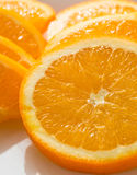 Fette arancio, immagine di riserva Fotografie Stock
