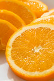 Fette arancio, immagine di riserva Fotografia Stock Libera da Diritti