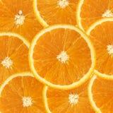 Fette arancioni Immagini Stock Libere da Diritti