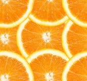 Fette arancioni Fotografia Stock