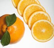 Fette arancioni Fotografie Stock Libere da Diritti