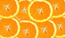 Fette arancioni fotografie stock