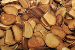 Fette biscottate Fotografia Stock Libera da Diritti