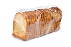 Fette biscottate del pane Fotografia Stock