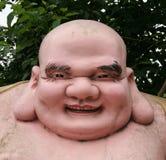 Fette Buddha-Statue Lizenzfreies Stockbild