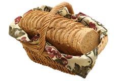 Fette calorose del pane Immagini Stock
