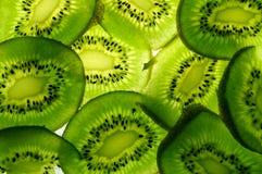 Fette del Kiwi Fotografia Stock