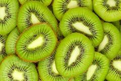 Fette del kiwi Fotografie Stock